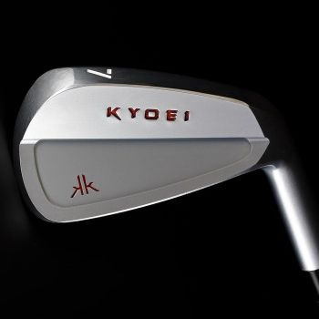 Kyoei KK CB Irons 4-PW - Custom White Chrome Finish