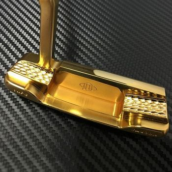 Armsgain Model-01 Putter - SM490A - Pure Gold ( 24k ) Coating