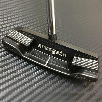 Armsgain Model-01SB Center Shaft Putter - HiBiKi Steel
