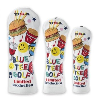 Blue Tee Golf HC-014 Smile Burger Head Cover - Limited Edition