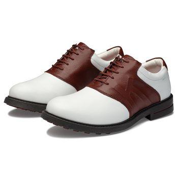 Kankura Golf Men's Scootsdale 06 - White/Brown