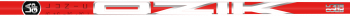LA Golf Partners Ozik Red Tie Hybrid Shaft