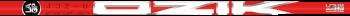 LA Golf Partners Ozik Red Tie Iron Shaft Set