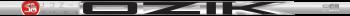 LA Golf Partners Ozik White Tie Wood Shaft