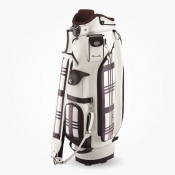 Romaro Tour Model Slim Type Caddy Bag and Head Cover Set ( Check )