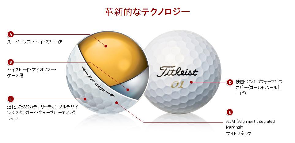 Titleist 2014 Tour Prestige Golf Ball
