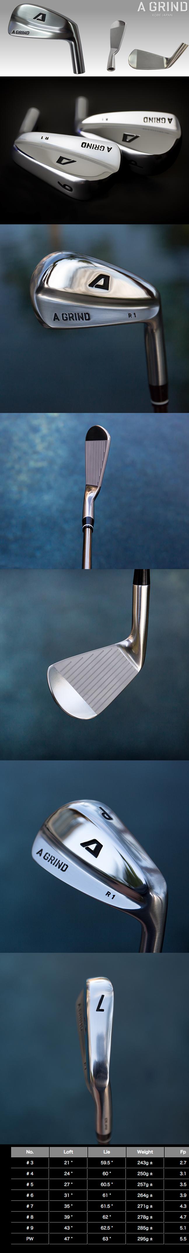 A-Grind Golf Blade Irons