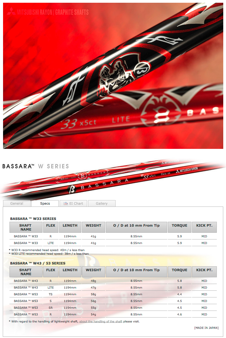 Mitsubishi Bassara W Series Shaft