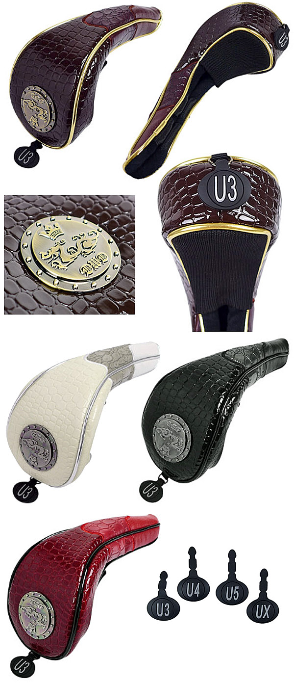 Dance With Dragon Fall & Winter Multi-material Utility Headcover