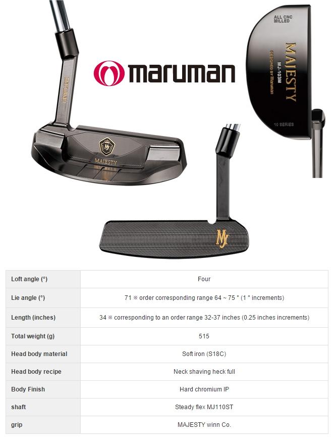 Maruman Majesty 103M Putter