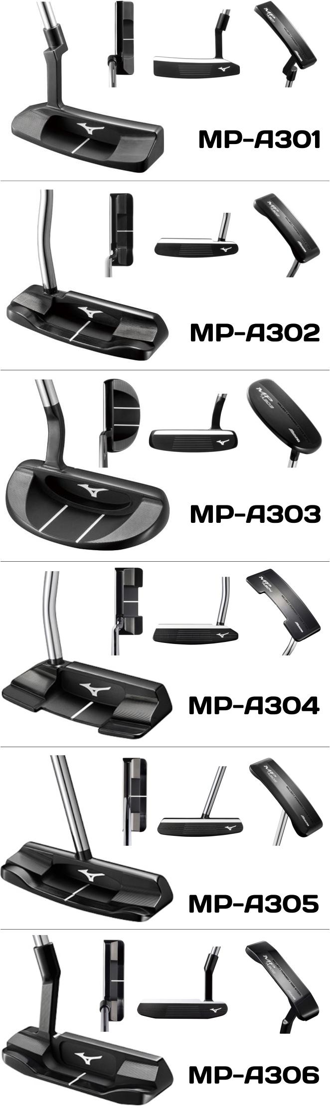 Mizuno MP A Series Putter