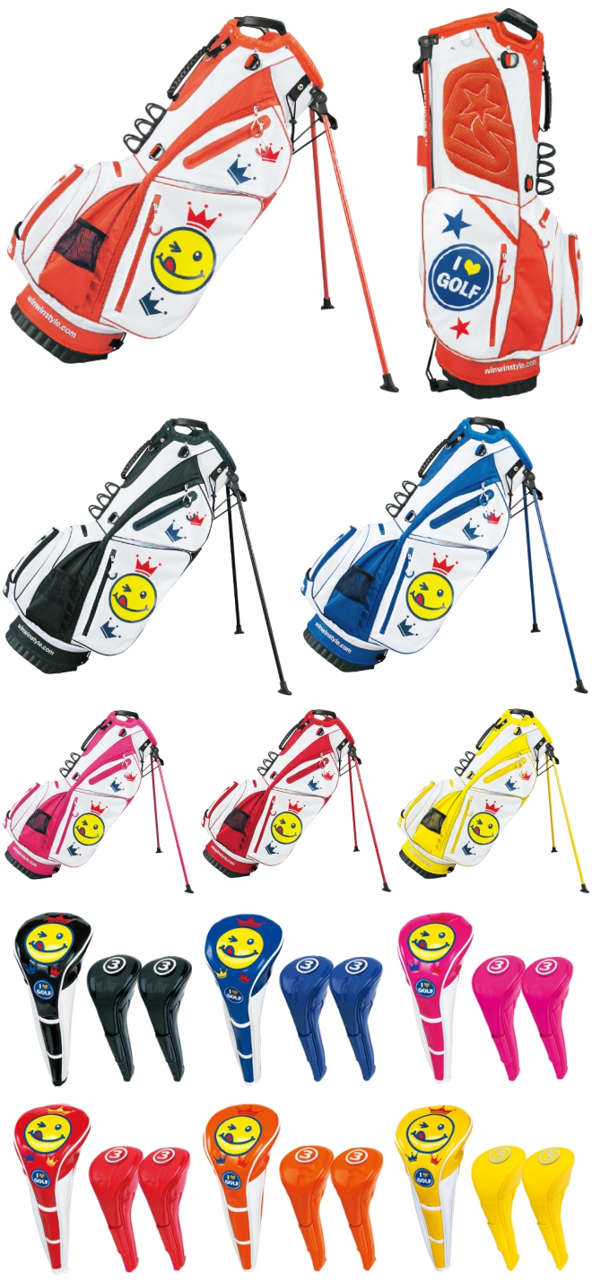 WinWin Style 2016 I Love Golf Light Weight Version Stand Bag