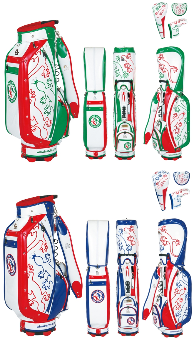 WinWin Style 2016 Lizard Star Limited Edition Caddy Bag