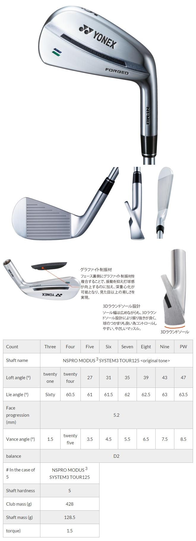 Yonex N1-MB Forged Iron