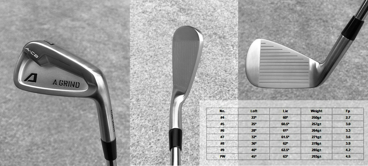 A-Grind A-CB Irons