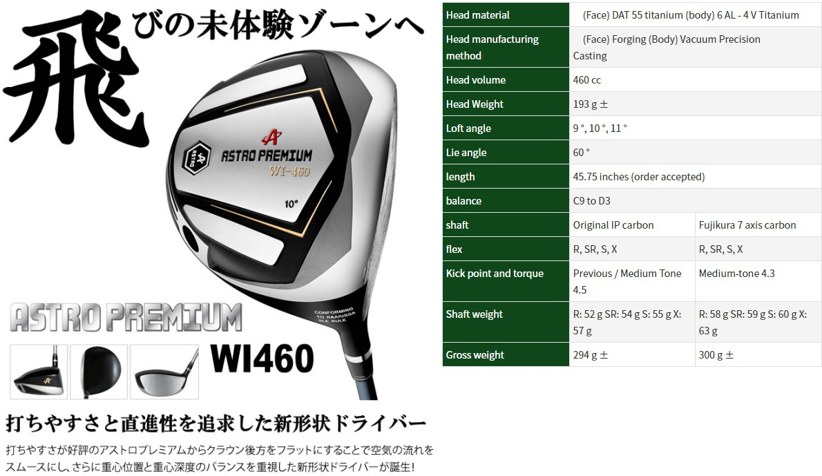 Astro Premium WI-460 Driver