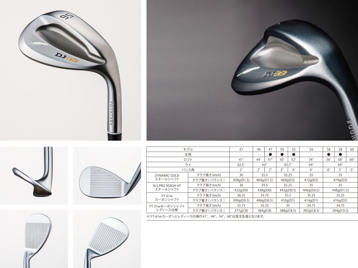 Fourteen DJ-33 Wedge