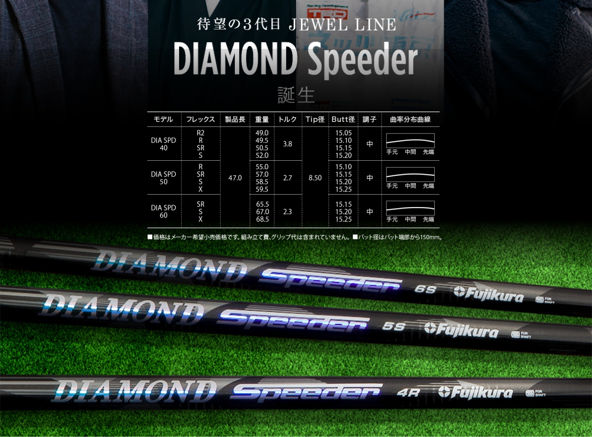 Fujikura Diamond Speeder Driver Shaft