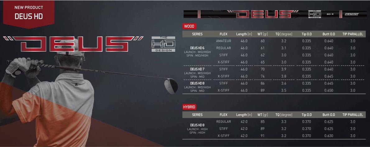 Matrix Deus HD Shaft
