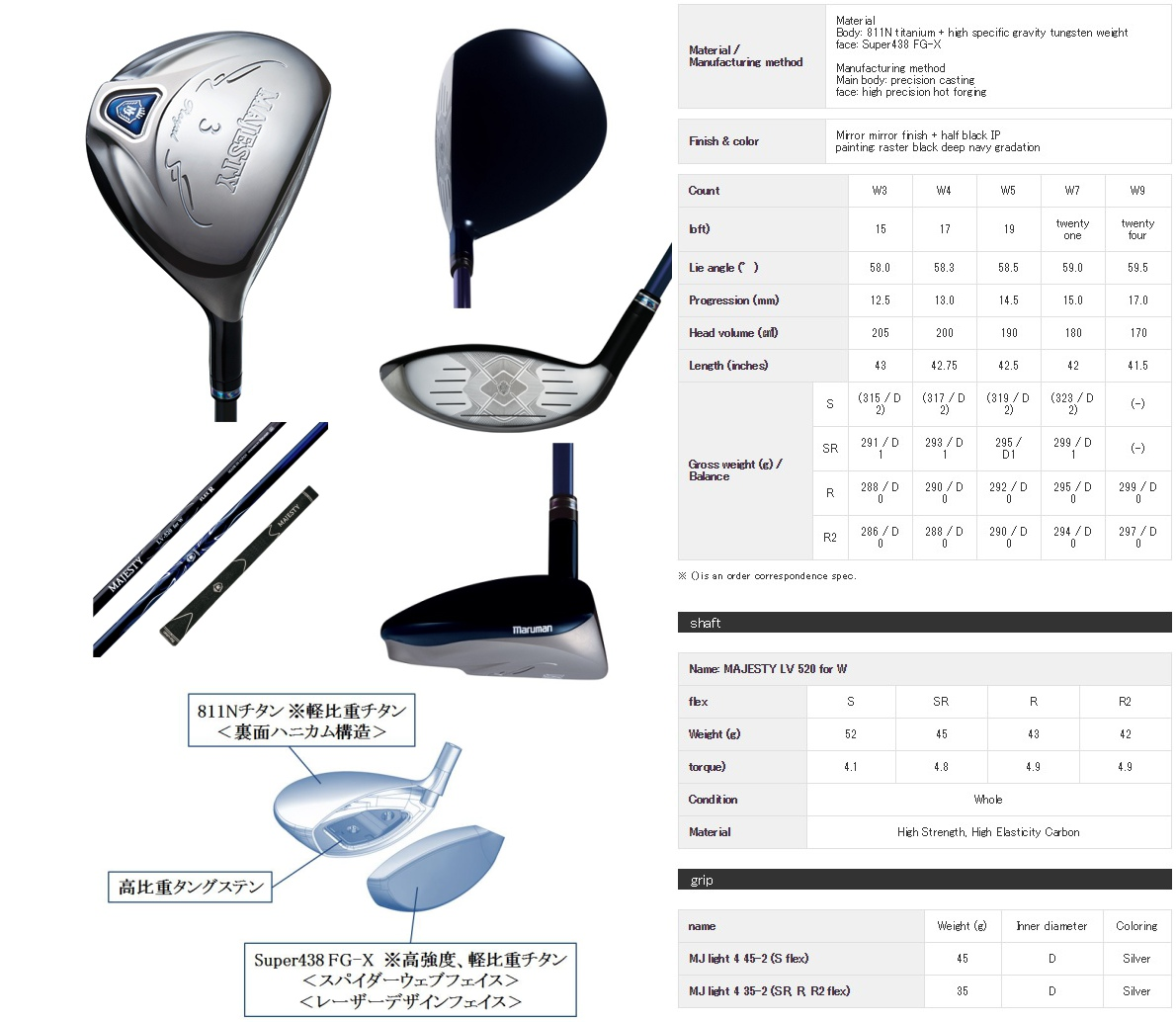 Maruman Majesty Royal SP Fairway Wood