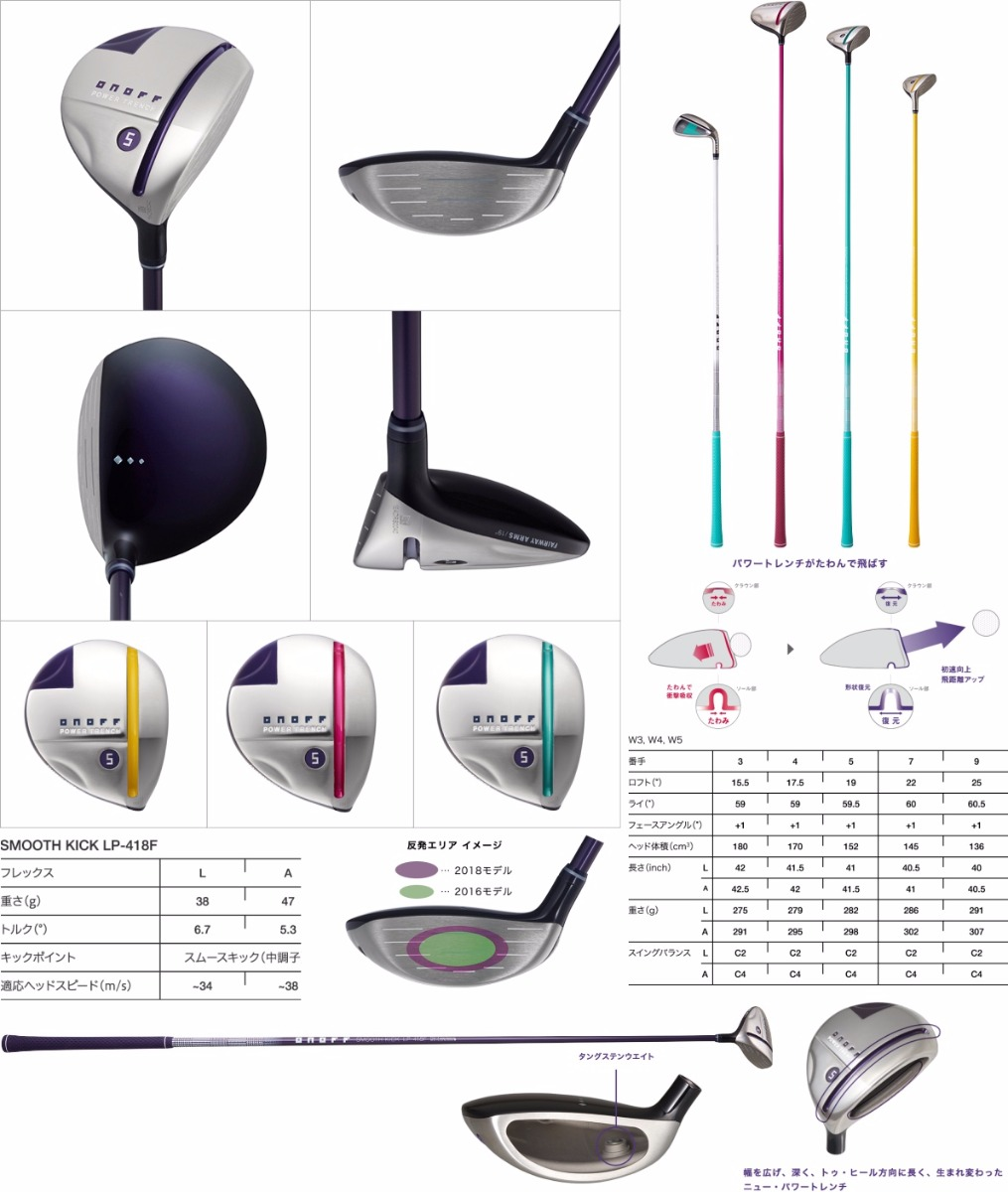 ONOFF 2018 Lady Fairway Arms Fairway Wood