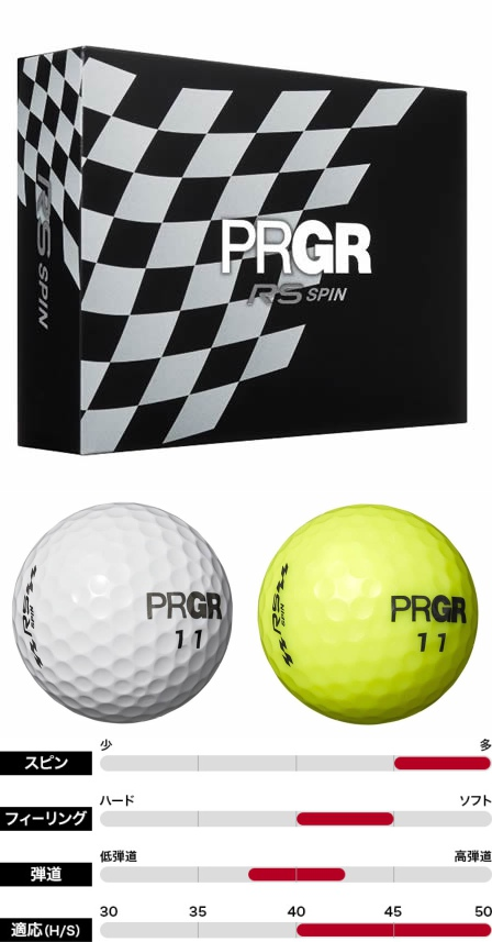 PRGR RS Spin Ball