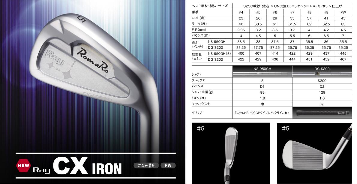 Romaro Ray CX Irons