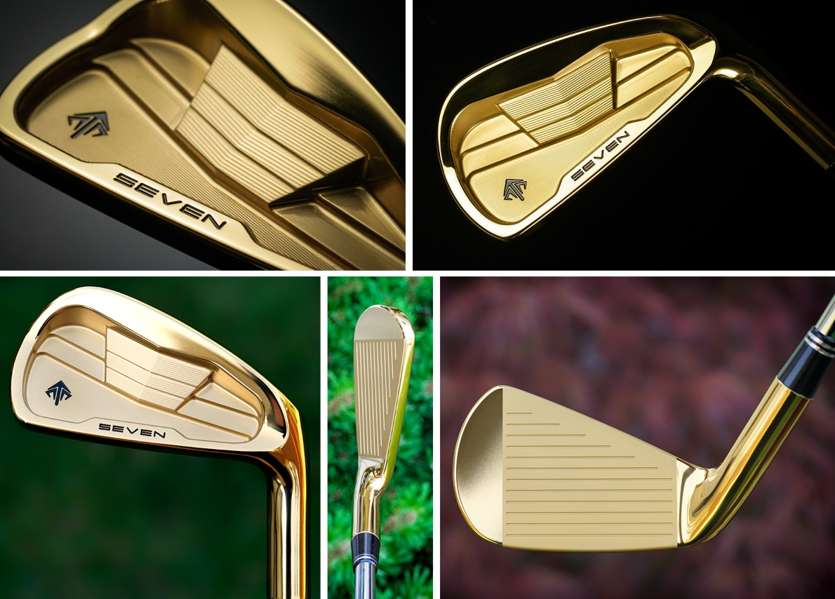 Korea Exclusive SEVEN 2017 CB Gold IP Irons