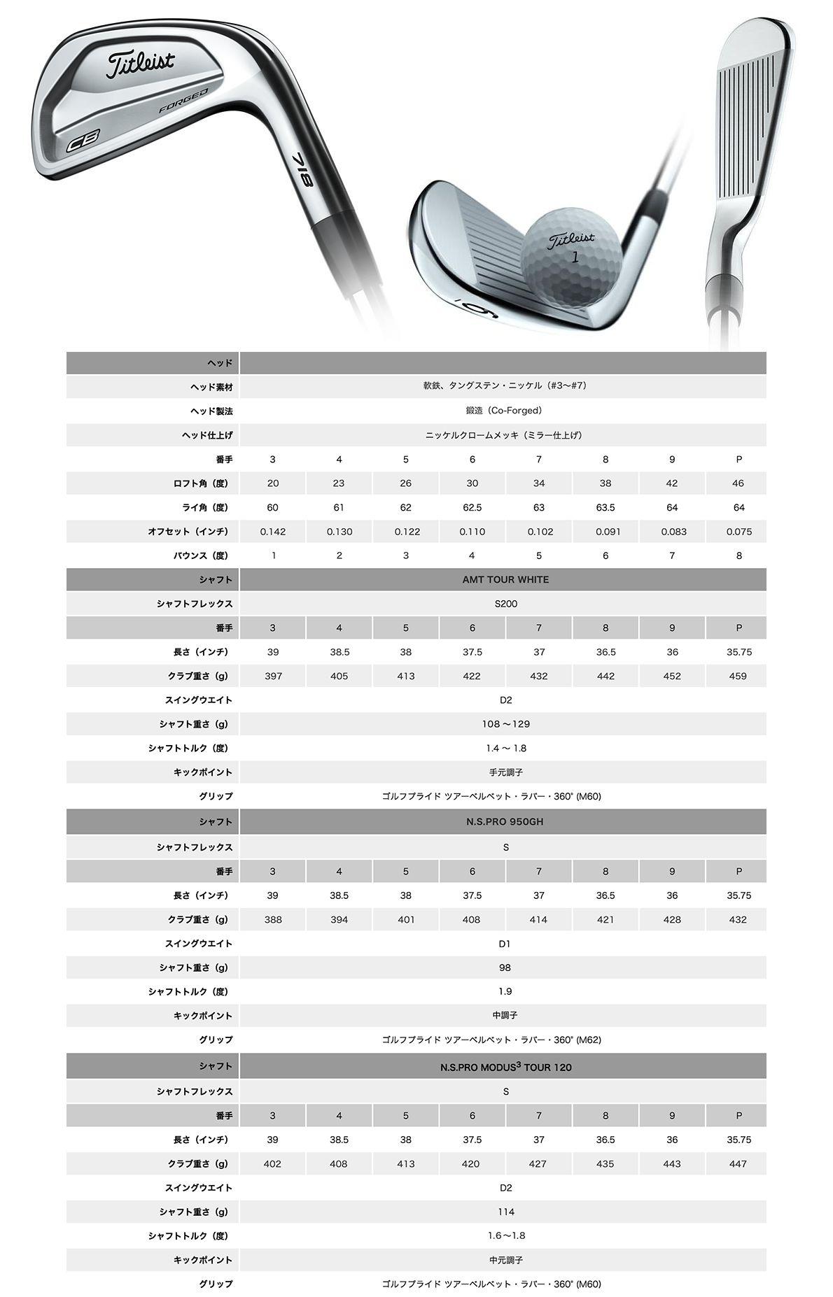 Titleist 718 CB Iron