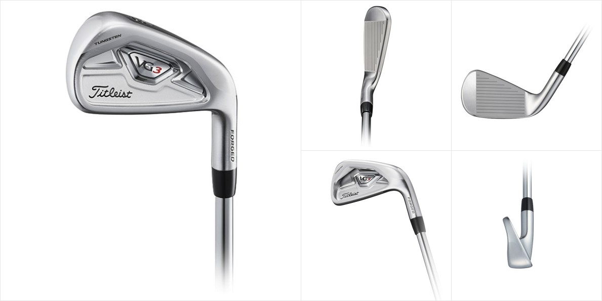 Titleist New VG3 Irons 1