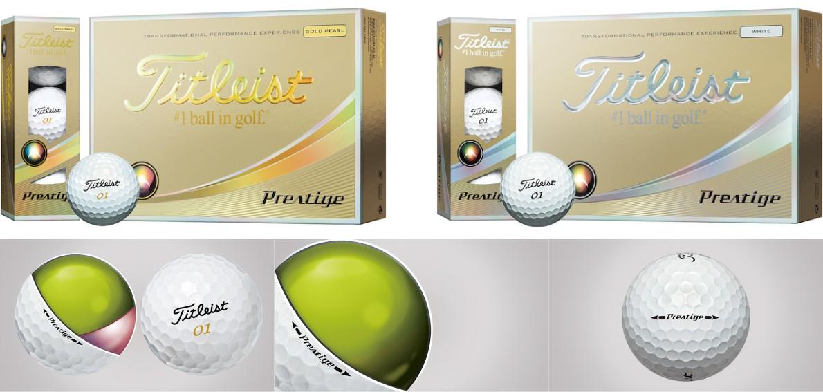 Titleist New Prestige Ball