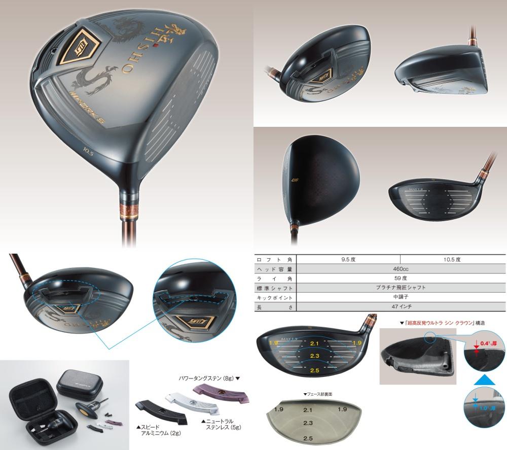 Works Golf Hisho HR Driver