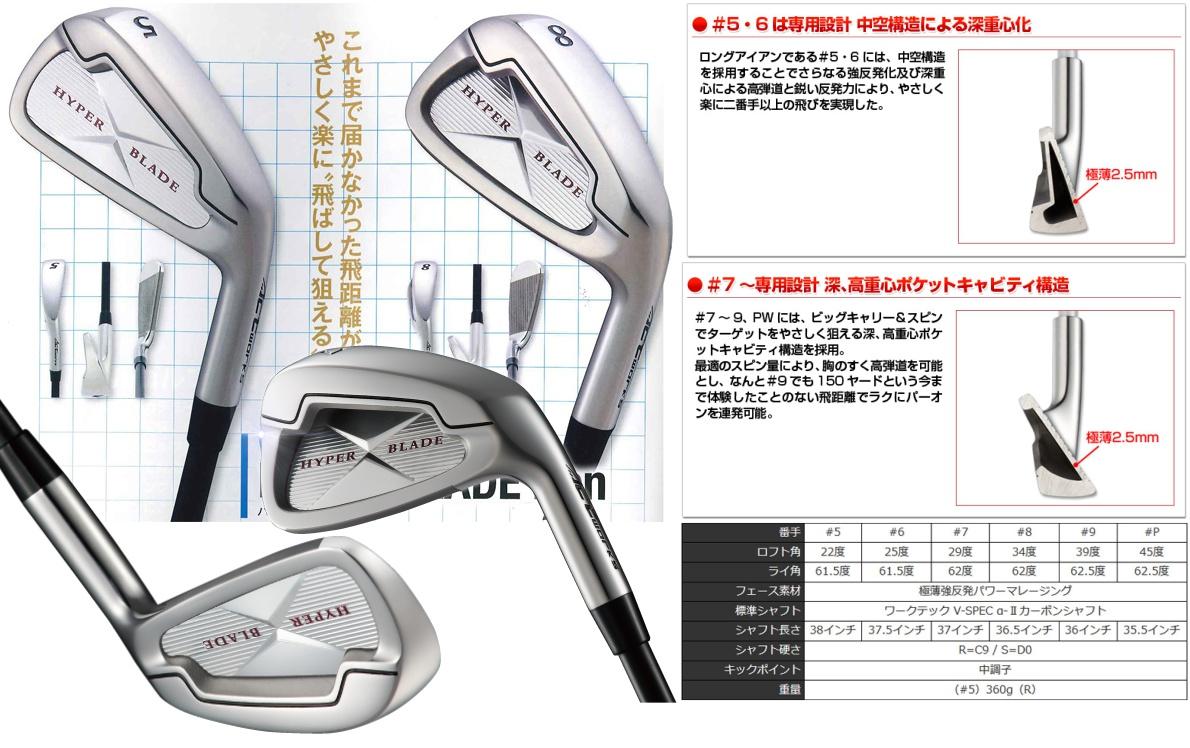 Works Golf Hyper Blade Irons