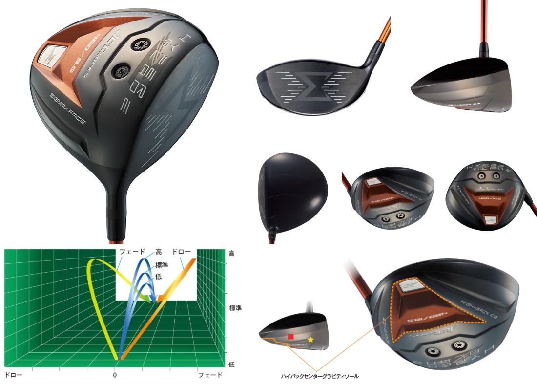 Works Golf Hyper Blade Sigma Driver