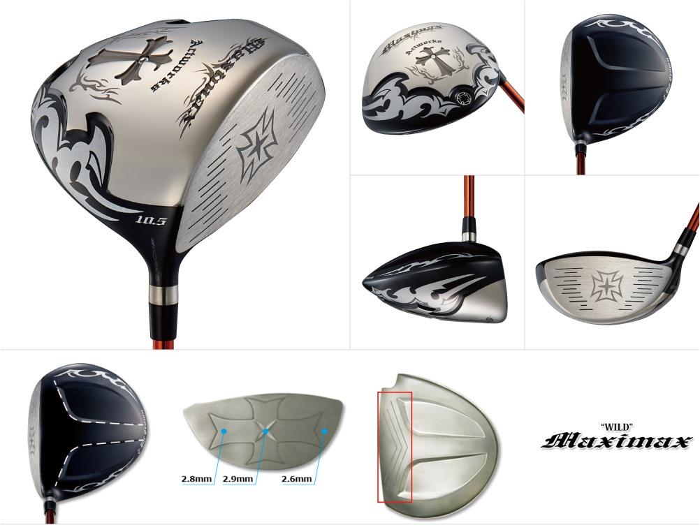 Works Golf Wild Maximax Driver