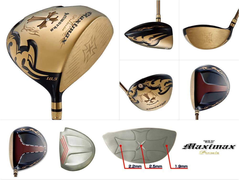 Works Golf Wild Maximax Premia Driver
