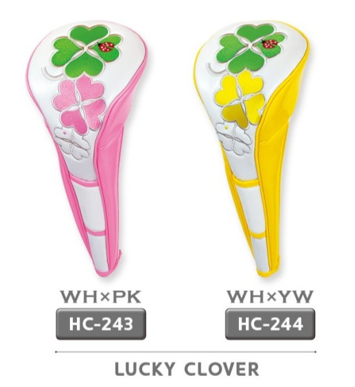 WinWin Style Lucky Clover Driver Head Cover