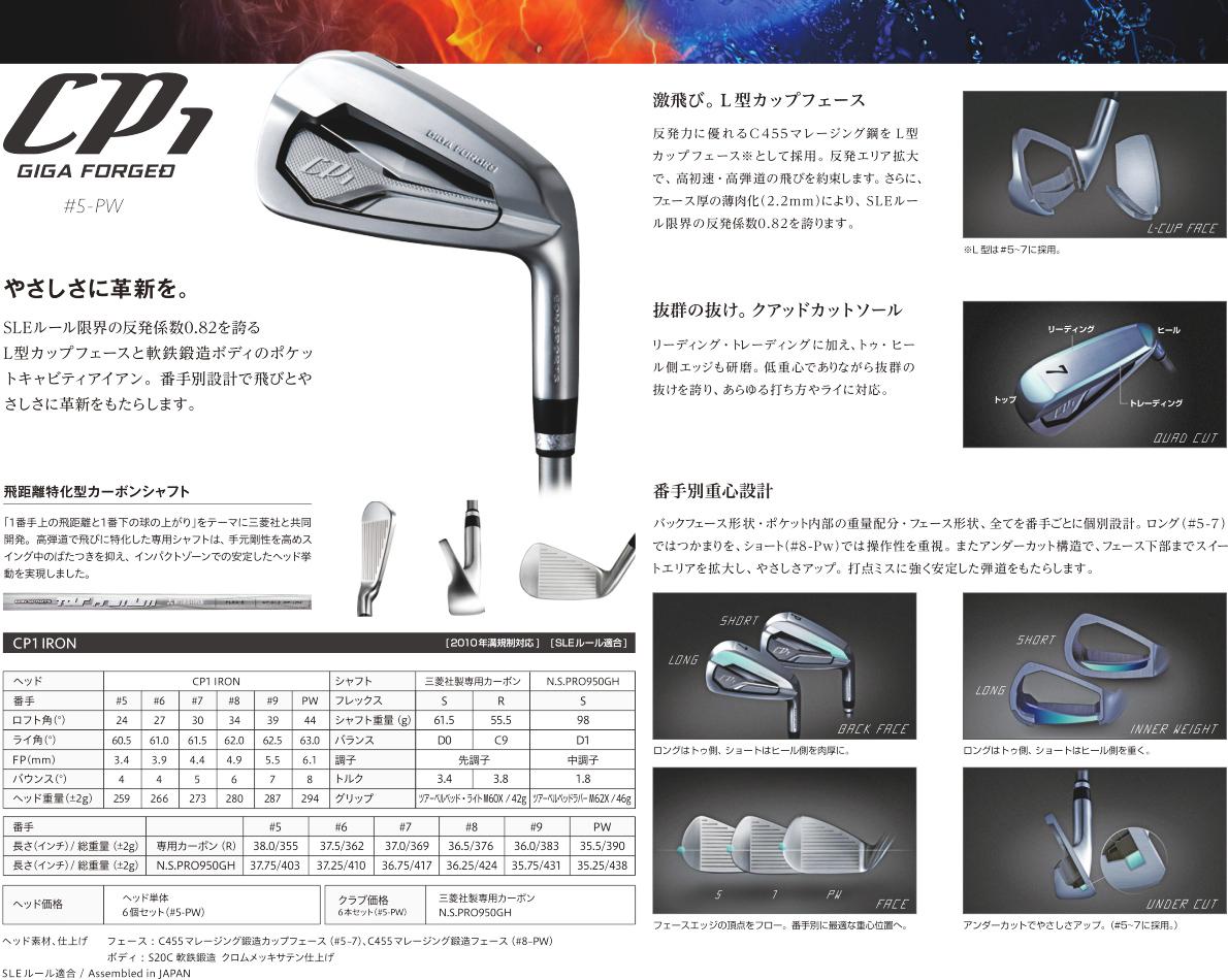 Eon Sports CP1 Giga Forged Iron