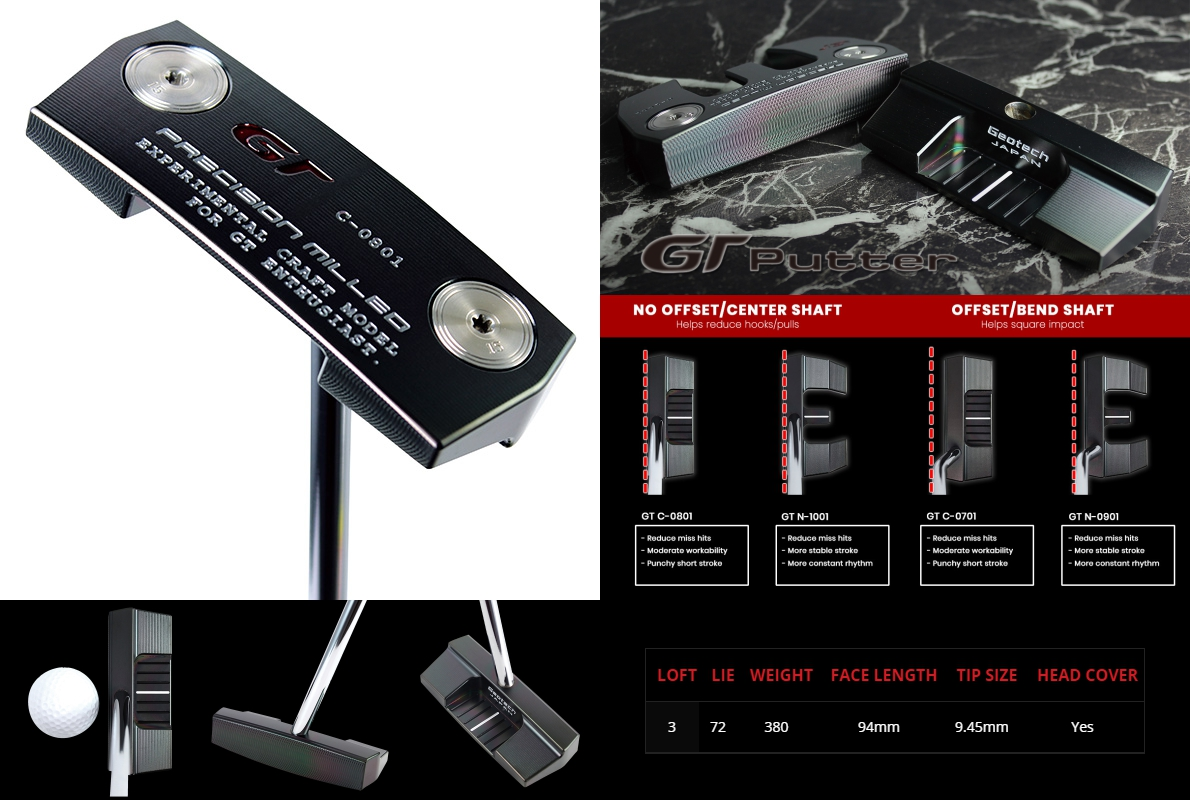 Geotech GT Precision Milled C-0801 Putter