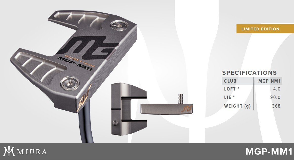 Miura MGP-NM1 Putter Limited Edition