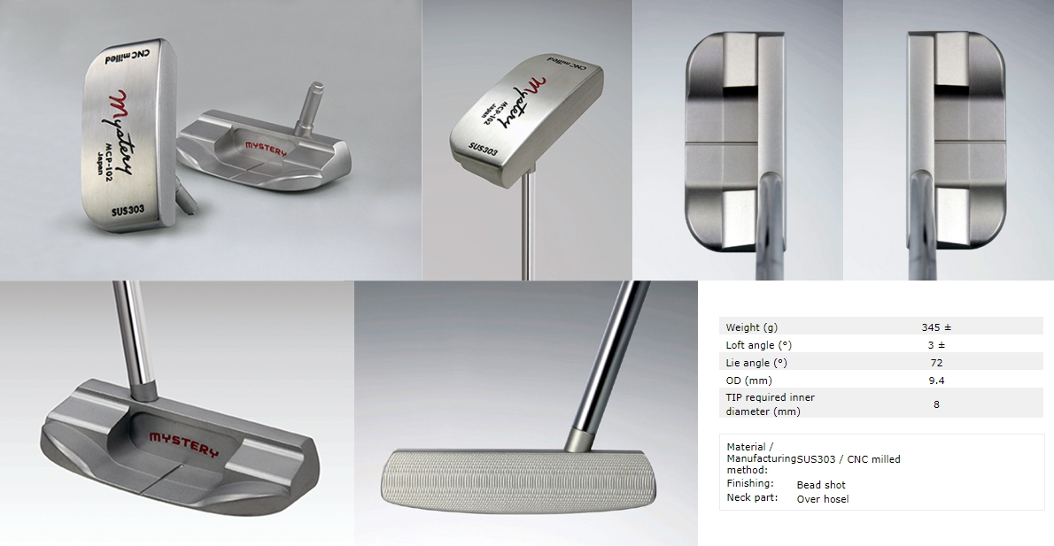 Mystery MCP-102 Putter