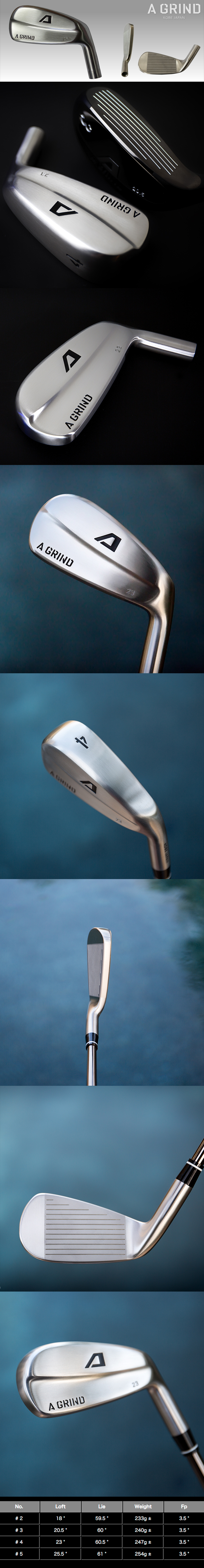 A-Grind Golf Driving Iron Hybrid
