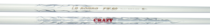 Crazy Black FW80 Fairway Wood Shaft