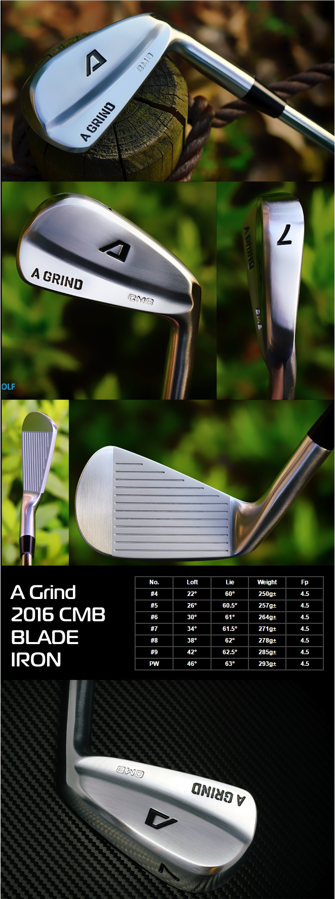 A-Grind 2016 CMB Blade Iron