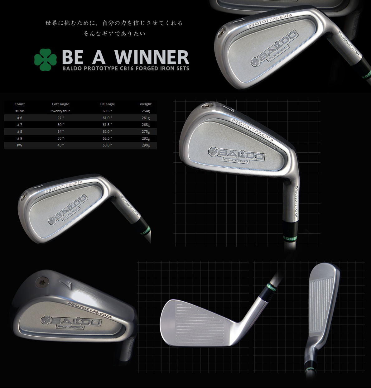 Baldo Prototype CB16 Forged Iron