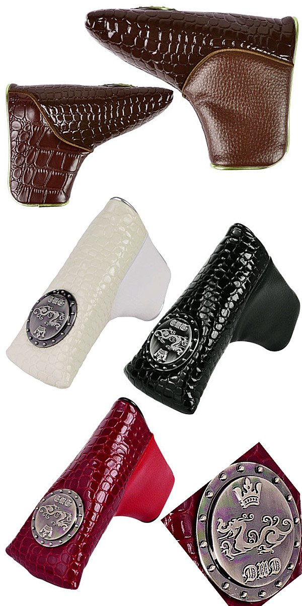 Dance With Dragon Fall & Winter Multi-material Putter Headcover Pin Type