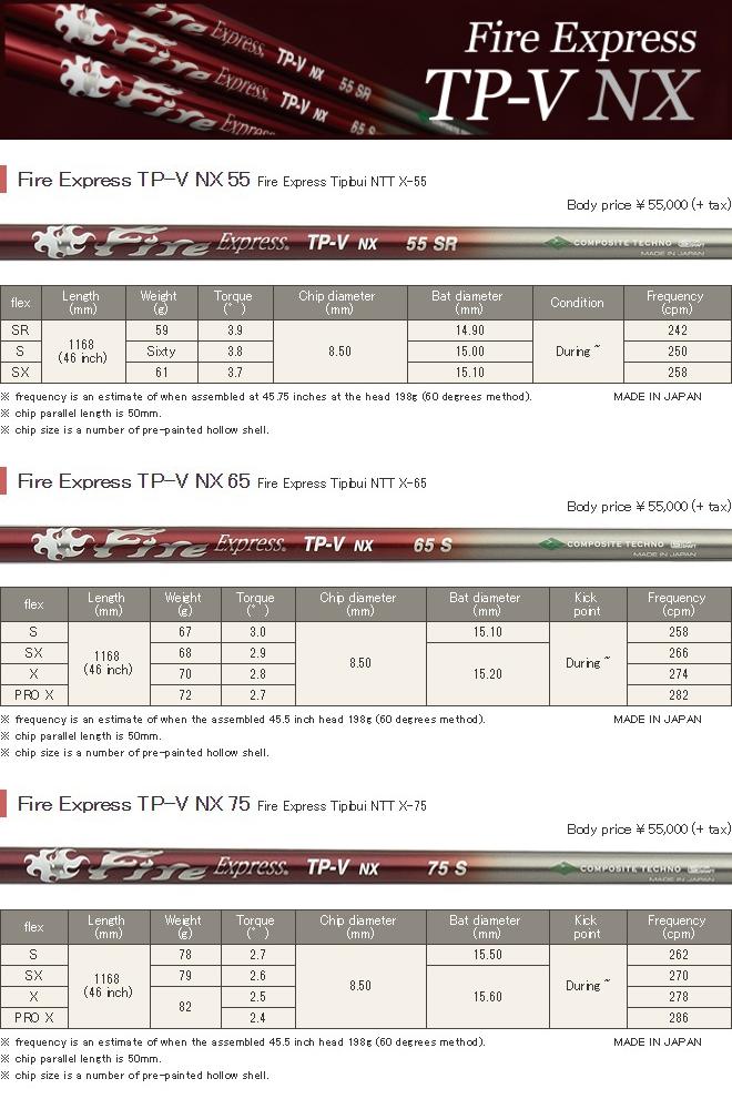 Fire Express TP-V NX Shaft