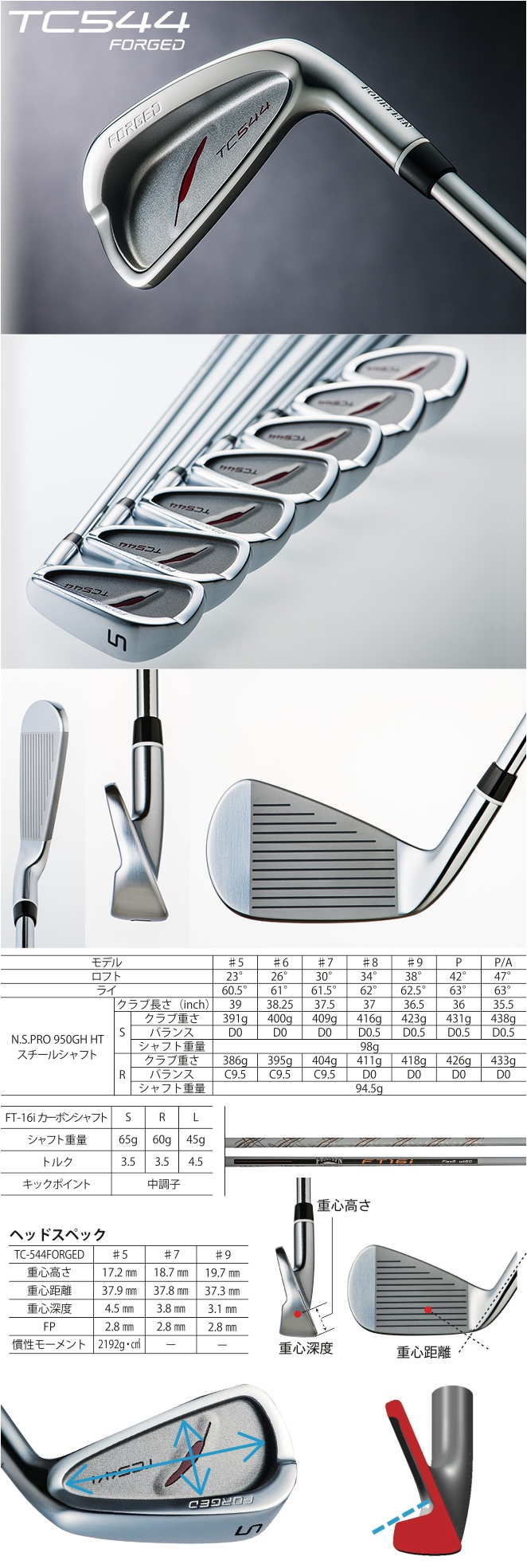 Fourteen TC-544 Forged Iron