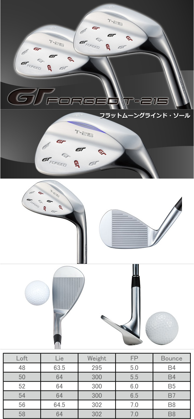 Geotech GT Forged T-215 Wedge