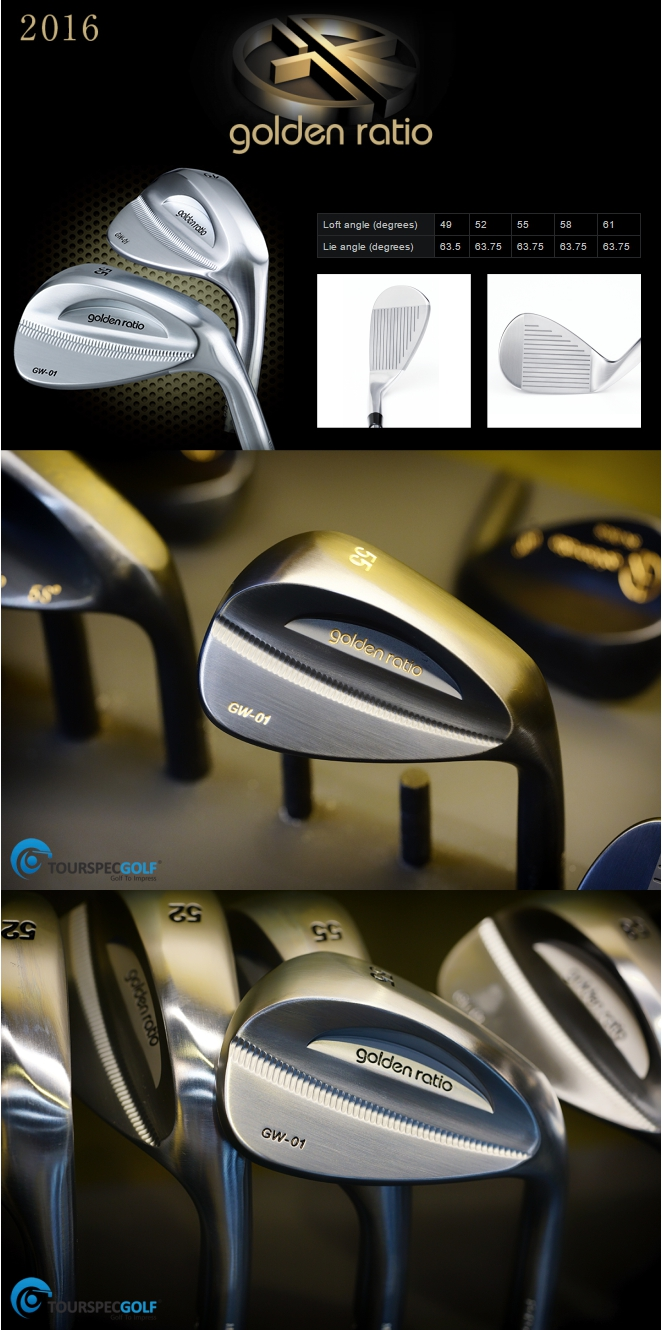 Golden Ratio GW-01 Wedge